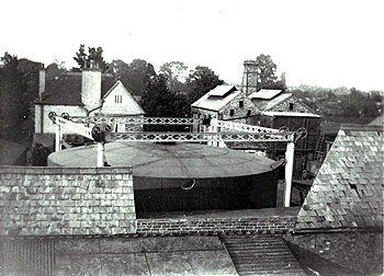 Woburn Gas Works about 1900 [Z50/135/55]